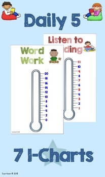 Daily 5 Goal Setting Class Thermometers