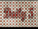 Daily 5 Header