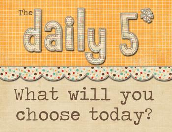Daily 5 Header Sign