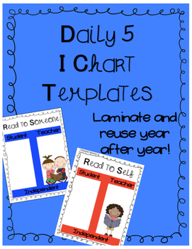 Daily 5 I Charts in Solid Colors