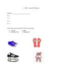 Daily 5 I PICK Worksheet/Practice