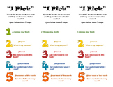 Daily 5 I Pick (IPICK) Good Fit book marks
