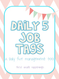 Daily 5 or Center Job Tags