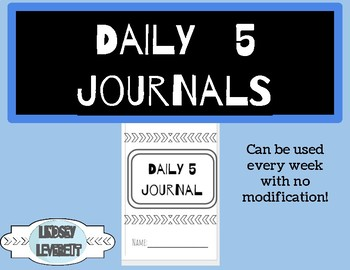 Daily 5 Journal!