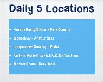 Daily 5 Keynote Rotations