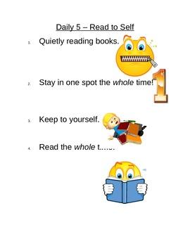 Daily 5 Kindergarten