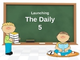 Daily 5 Launching Power Point - With I Charts and Stamina Chart-FREE!