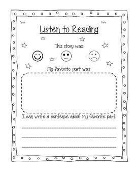 Reading Center- Listen to Reading Bundle