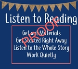 Daily 5, Listen to Reading Poster