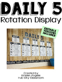 Daily 5 Literacy Center Rotation
