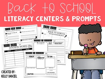 Daily 5 Literacy Centers: Back To School Edition!