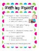 Daily 5 MATH Quick Start Guide