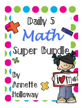 Daily 5 MATH Super Bundle