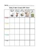 Daily 5 Math Check-Off Chart