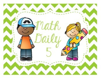 Daily 5 Math Chevron Posters (with pictures)