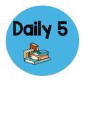 Daily 5/Math Daily 3 Choice Board