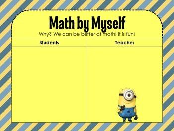 Daily 5 Math & Daily 3 Math - Minions