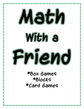 Daily 5 Math First Grade Dividers