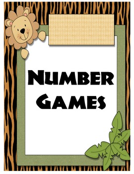 Daily 5 Math Jungle Theme Posters