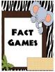 Daily 5 Math Jungle Theme Posters