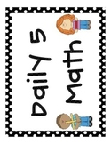 Daily 5 Math Signs
