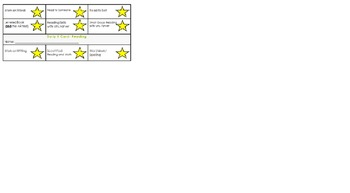 Daily 5 Math and Reading Punch Cards