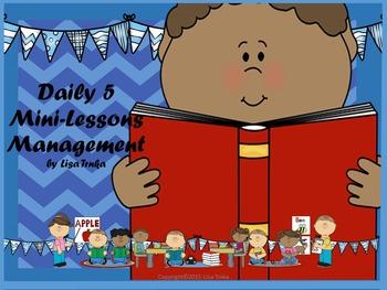 Daily 5 Mini-lessons I
