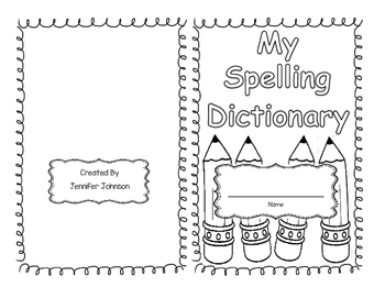 Daily 5 My spelling dictionary
