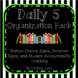 Daily 5 Organization Pack
