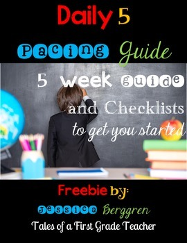 Daily 5 Pacing Guide {Freebie}