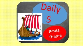 Daily 5- Pirate Theme