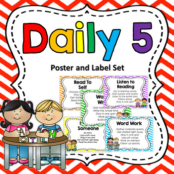 Daily 5 Poster Pack {Editable}