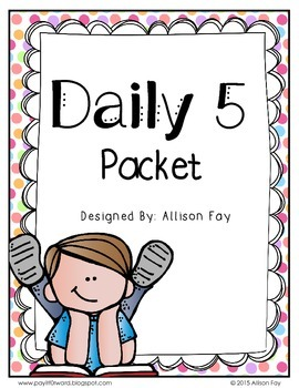 Daily 5 Poster Set Packet
