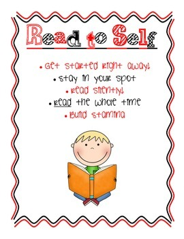 Free Daily 5 Posters/Anchor Charts