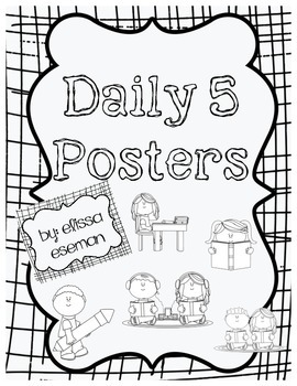 Daily 5 Posters