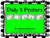 Daily 5 Posters- Cute Polka Dot Themed