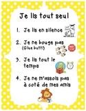 Daily 5 Posters / Les Affiches 5 au Quotidien