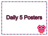 Daily 5 Posters- Owl