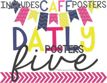 Daily 5 Posters - Pennants [includes CAFE posters]