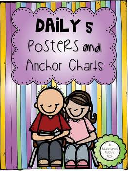 Daily 5 Posters and Anchor Charts {FREEBIE}