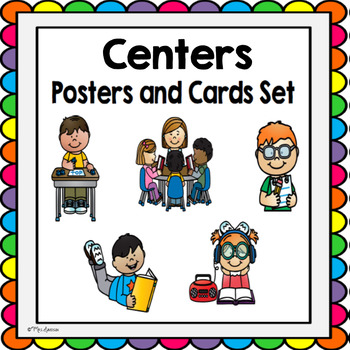 Daily Five Center Cards and Posters- Color