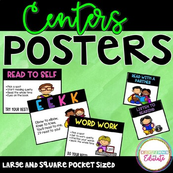 Daily 5 Posters and Labels- Freebie!