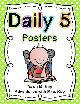 Daily 5 Posters~Freebie