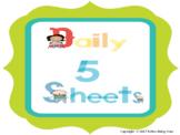 Daily 5 Primary Grades