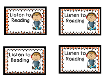 Daily 5 Printables and Center Signs