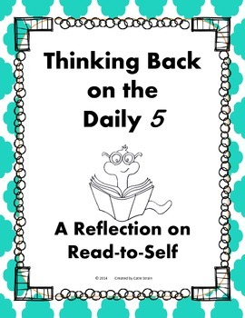 Daily 5 Read-to-Self Student Reflection