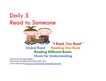 Daily 5 Read to Someone