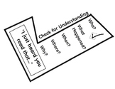 """Daily 5 - """"Read to Someone"""" Check for Understanding (Checkmark)"""