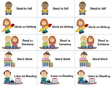 Daily 5 Reading Choice Cards