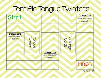 Daily 5 Reading Fluency Tongue Twister Game! Great for ESE/ELL students!